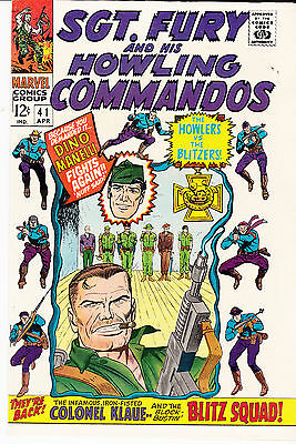 SGT. FURY & His Howling Commandos #41  (April 1967)