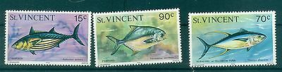 POISSONS - FISHES ST. VINCENT 1976 Common Stamps