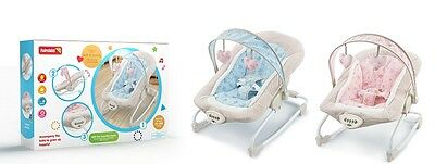 Soft and Comfy Baby Musical Rocker Bouncer Chair Infant to Toddler Vibration