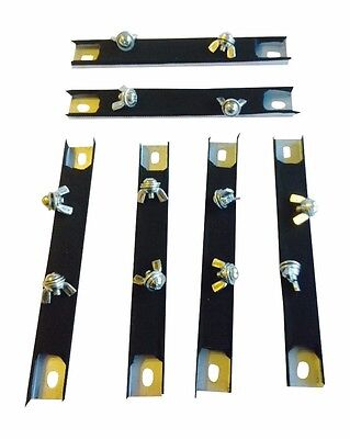 Six (6) Magnetic License Plate Holders, Magnet, Tag, Plate, Test Drive, Dealer