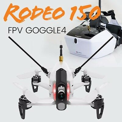 Walkera Rodeo 150 with Goggle 4 Brushless FPV Racing quadcopter drone