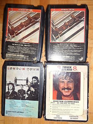 8 Track Tapes: 12 Rock Tapes From The 60S & 70S