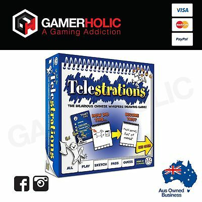 Telestrations Board Game Card Game Family Game Brand New