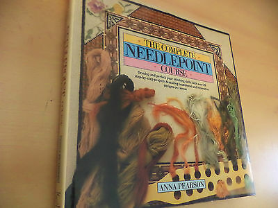 The Complete Needlepoint Course Embroidery Tapestry Sewing Crafts Book Pearson