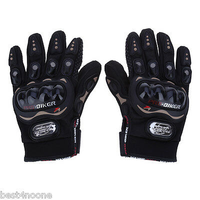 Full Finger Motorcycle Gloves Motorbike Outdoor Sports Riding Breathable Gears