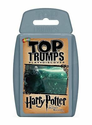 HARRY POTTER and the deathly hallows 2 Top Trump Card Game Travel Trumps