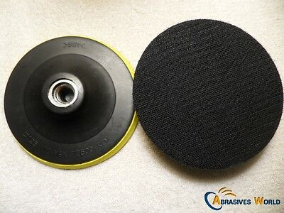 "Backing Pad  wheel for 5"" (125 mm) Angle Grinder, For 125mm Sanding discs"