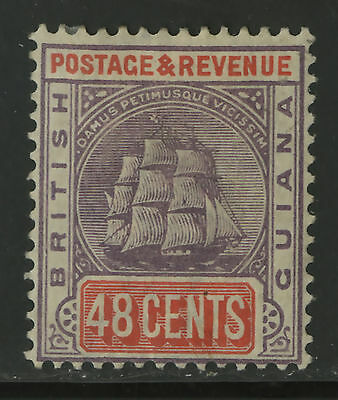 British Guiana  1899-1903  Scott # 143  Mint Hinged