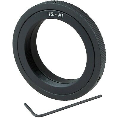 T2/T lens to Nikon Mount Adapter Ring for DSLR SLR camera D7200 D3 D500 D90 D80