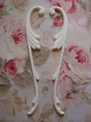 Shabby Chic Acanthus Leaf Scroll Trim Molding Furniture Applique Architectural