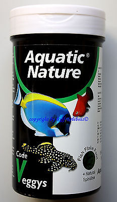 Aquatic Nature Code Veggys + Spirulina 320ml Fischfutter  28,13€/L