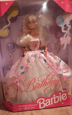 Birthday Barbie - 1996 - Never Removed From Box