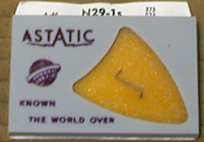 Astatic N29-1s Sapphire One Mill Needle New Old Stock