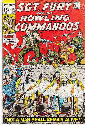 SGT. FURY & His Howling Commandos #91-98 (lot of 8)