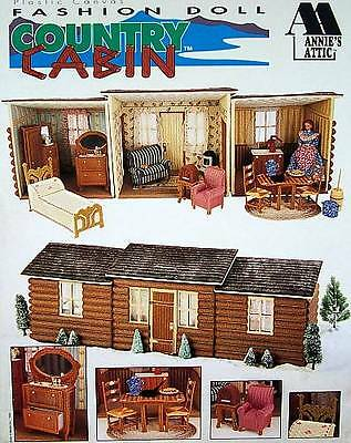 Plastic Canvas Fashion Doll Country Cabin Leaflet Patterns  Annie's Attic