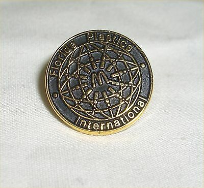 "McDonald's Restaurant ""Florida Plastics International ""-  Lapel Souvenir Pin"