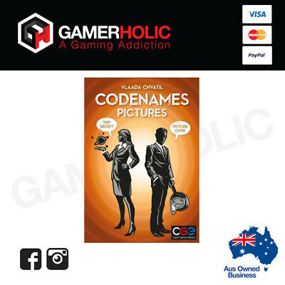 Codenames Pictures Board Game Card Game Brand New - IN STOCK