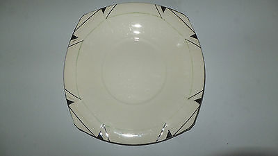 Alfred Meakin Marigold Princess Shape Plate Art Deco #2101