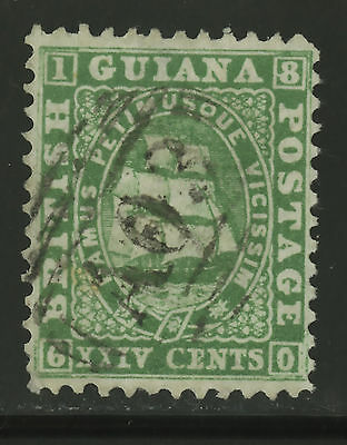 British Guiana  1862-65  Scott #  28  USED