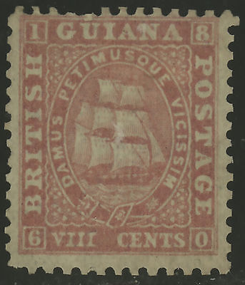 British Guiana  1862-65  Scott #  26  MINT NO GUM