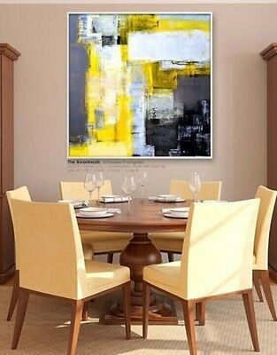 """MODERN ABSTRACT HUGE WALL ART OIL PAINTING ON CANVAS(no frame)20"""""""