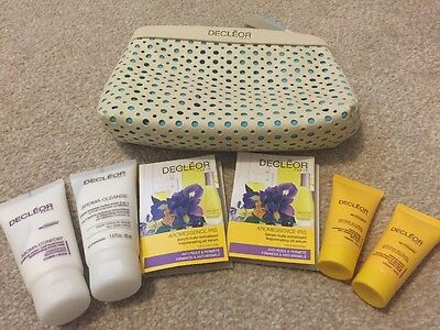 Decleor 7 Piece Set Kit Travel Sizes Iris Oil Cleanser Hydra Floral Mask Free PP