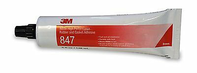 3M 847 Brown Nitrile High Performance Rubber and Gasket Adhesive, 5 Ounce, New