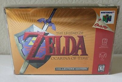 Legend of Zelda: Ocarina of Time Collector's Edition Nintendo N64 Gold Box Only
