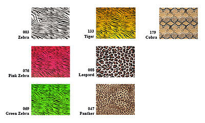 "15""x3ft Heat Transfer PU Vinyl Patterned Animal Prints for custom t-shirts,Press"