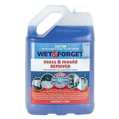 Wet And Forget Moss Mould Grime Remover Surface Cleaning 5L