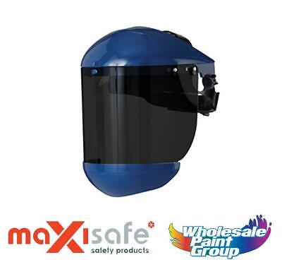 Maxisafe Professional Shade 5 Faceshield & Brow Guard Face Safety Protection