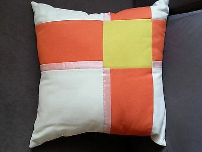 Decorative Cushion Cover, CITRUS Lime, Orange and Icecream, 44x44cm