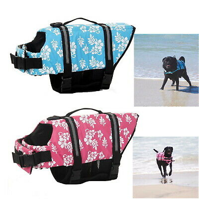 Dog Life Jacket  XS S M L XL 2XL 3XL Vest Aquatic Swimming Safety Preserver  Pet