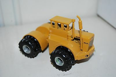 1/64 Wagner WA-14 4wd tractor, yellow w/ duals, all diecast model, NICE