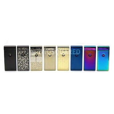 NEW Electric Dual Arc Windproof Flameless Cigarette USB Lighter AUS STOCK