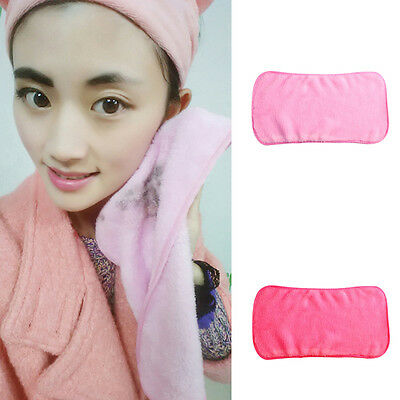 Makeup Remover Towel Reusable Cleaning Towel Microfiber Soft Washcloth