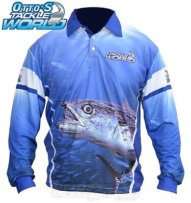 Tackle World Spanish Mackerel 2016 Long Sleeve Fishing Shirt BRAND NEW at Otto's