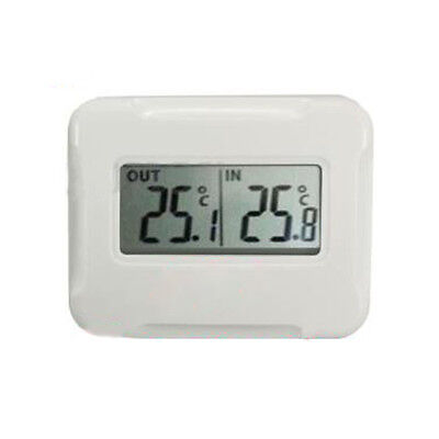 New Digital Wireless LCD thermometer Indoor + Outdoor Temperature Sensor 433MHz