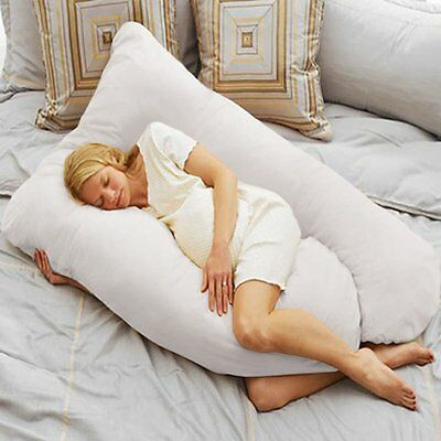 Oversized Comfort Total Body full support Pregnancy Maternity Pillow U Shape L8