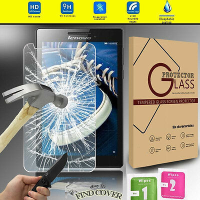 Genuine Tablet Tempered Glass Screen Protector For Lenovo Tab 3 8 LTE