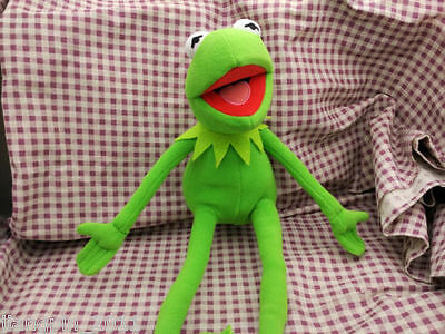 "Kermit Sesame Street Muppets Kermit the Frog Toy plush 18""  DSGVESD"