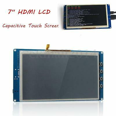 """7"""" Capacitive Touch Screen Display LCD 800x480 HDMI For Raspberry Pi B+/Pi2 New"""