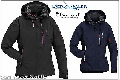Pinewood Isaberg Damen superleichte Freizeit Outdoorjacke Regenjacke XS-XXL New