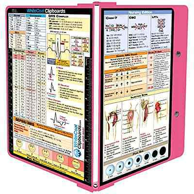 Whitecoat Clipboard Pink Nursing Edition Doctor Document Tool Healthcare