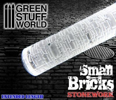 Rolling Pin - small BRICKS Texture - Create your bases Warhammer Bolt Action