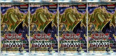 Dragons of Legend Unleashed 1st Edition Booster Pack x4