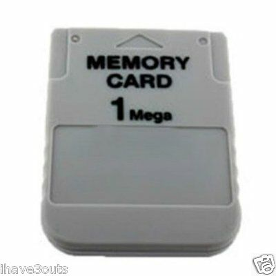 1MB Memory Card For Sony Playstation 1 PS1 1 MB PSX Game Save Load Restore Card