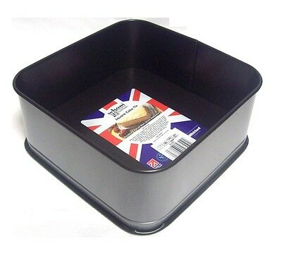 Wham Two Tone Double Coated Non Stick Loose Base Cake Baking Tin - Square 6""