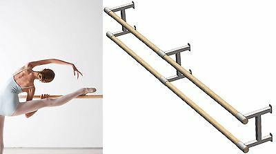 Fixed Wood Ballet Barre made in EU