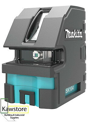 Makita SK104Z 2 Way Cross Line Laser 60 M Range Self Levelling; With Accessories